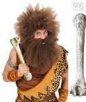 Großer alter Knochen braun weiß Neandertaler, Steinzeitmensch, 2295