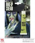 Schminke Creme Make up, Tube GRÜN, Horror, Hexe