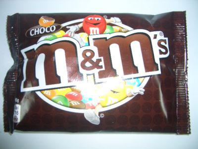 m&m's Choco 24x45g. Tüten im Karton