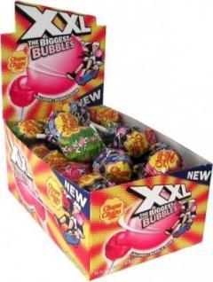 Chupa Chups XXL Lollipop+ Bubble Gum 50Stück