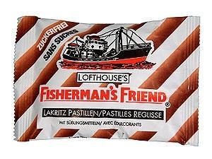 Fisherman's Friend Lakritz o.Zu. 24x25g. OVP.