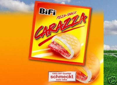 BiFi Carazza Pizza-Snack 30x40g.Karton OVP.
