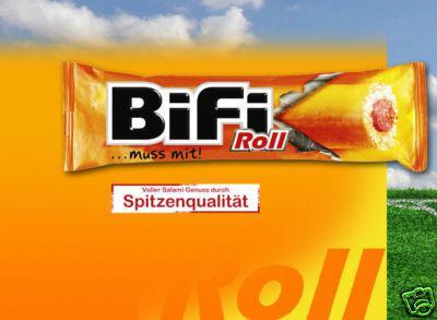 BiFi Roll Salami im Teigmantel 24x50g. OVP.