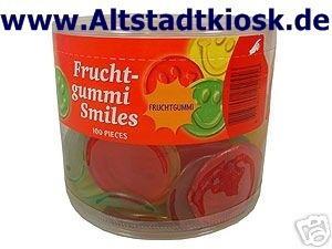 RED BAND Fruchtgummi SMILES 100St.Weingummi