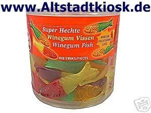 RED BAND Fruchtgummi Super Hechte 100St.Dose OVP.