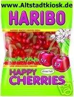 Haribo Fruchtgummi Happy Cherries 10x200g. Tüten