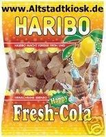 Haribo Fruchtgummi Fresh-Cola 5x 200g.