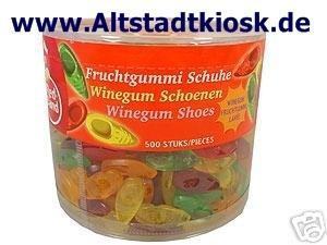 RED BAND Fruchtgummi Schuhe 500St.Dose OVP.