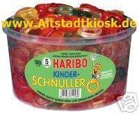 Haribo Fruchtgummi Kinder-Schnuller 150Stück OVP.