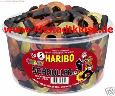 Haribo Crazy Schnuller 150St.mit Lakritz