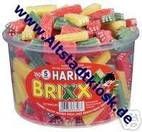 Haribo Fruchtgummi BRIXX 150St. Weingummi