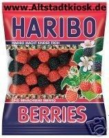 Haribo Fruchtgummi BERRIES 5 x 200g.OVP.