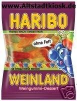 Haribo Fruchtgummi Weinland 5x200g.Tüten