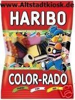 Haribo Fruchtgummi Color Rado 10x200g.Tüten OVP.