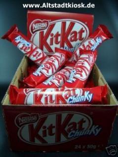 KitKat Chunky v.Nestle 24x50g.Riegel. - Vorschau