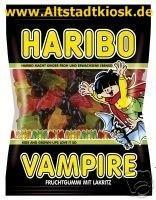 Haribo VAMPIRE 10 x 200g. Tüten Lakritz