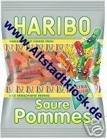 Haribo Saure Pommes 10 x 200g. Tüten OVP.