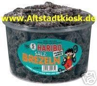 Haribo Lakritz SALZ-BREZELN 150St.Dose OVP.