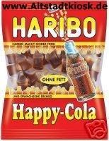 Haribo Fruchtgummi Happy-Cola 10x200g.Tüten
