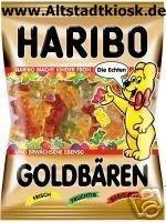 Haribo Fruchtgummi Goldbären 10x200g.Tüten