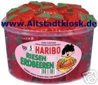 Haribo Fruchtgummi Riesen Erdbeeren 150Stück - Vorschau