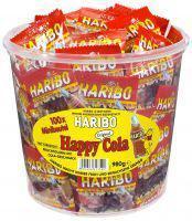 Haribo Happy-Cola 100 Minibeutel OVP. Weingummi mi - Vorschau
