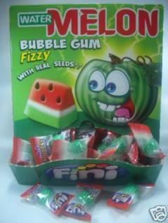 Fini Bubble Gum Water Melon 200Stück OVP.