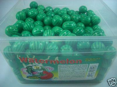 Original Watermelon Bubble Gum 300Stück OVP.