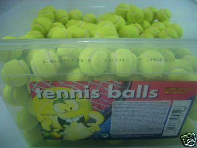 Tennis Balls Bubble Gum 300Stück (1St./0,039?)