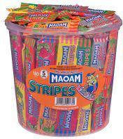 MAOAM STRIPES 150 Stück Dose OVP.