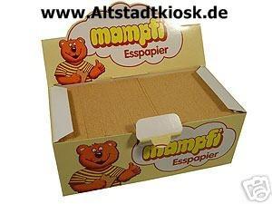 mampfi ESSPAPIER 200Stück Karton