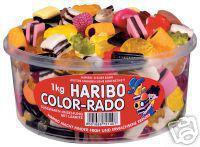 HARIBO Süßwaren-Mischung mit Lakritz COLOR-RADO