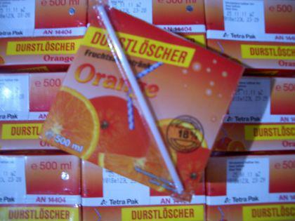 Durstlöscher Orangen Fruchtsaftgeränk 12 x 500ml.