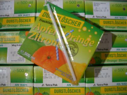 Durstlöscher Apfel-Orange-Zironen Getränk 12x500ml