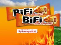 BiFi Roll Peperoni 24 x 50g.Karton OVP.
