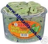 Haribo Fruchtgummi Saure-Apfelringe 150Stück