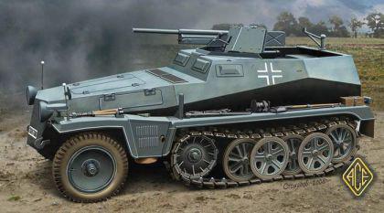 Sd.Kfz.250/10 Leichter Schutzenpanzerwagen (3.7cm)