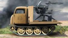 RSO/01 with 2cm FLAK38 in Gebirgslafette