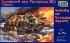 Fire-throwing tank Flammpanzer 38 (Hetzer)