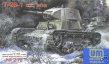 Soviet tank T-26-1 Mod.1939
