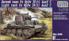 Light tank PzKpfw 38(t) Ausf.C