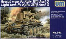 Light tank PzKpfw 38(t) Ausf.G
