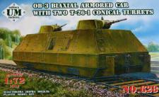 OB-3 Biaxial armored car with two T-26-1