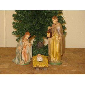Heilige Familie, Berkalith, 12 cm hoch - Vorschau