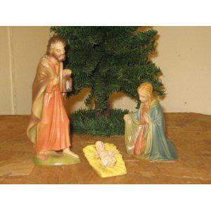 Heilige Familie, Berkalith, 15 cm hoch