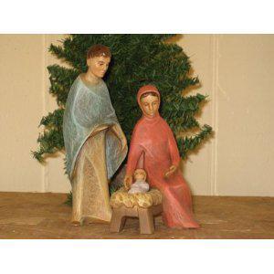 Heilige Familie, Berkalith, 17 cm hoch - Vorschau