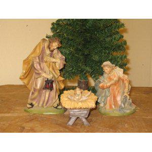 Heilige Familie, Berkalith, 25 cm hoch - Vorschau