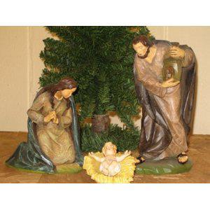 Heilige Familie, Berkalith, 18 cm hoch - Vorschau