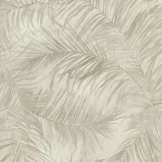 Natur Vliestapete FERUS 205-203 WILD Palmen Dschungel grau 5, 33 qm