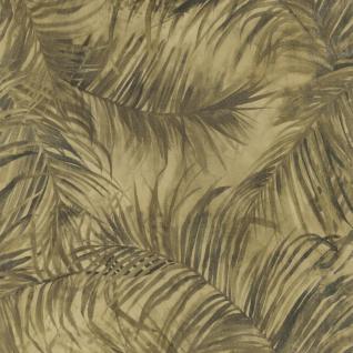 Natur Vliestapete FERUS 205-202 WILD Palmen Dschungel grün-beige oliv 5, 33 qm